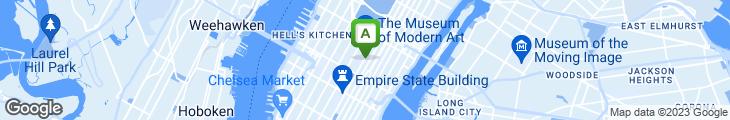 Map of P.J. Moran's