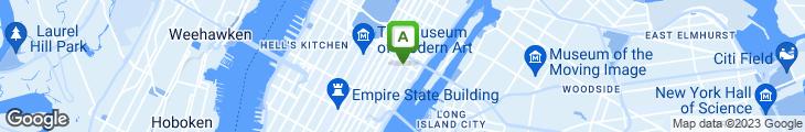 Map of NY Jumbo Bagel