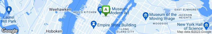 Map of Bobby Van's Steakhouse