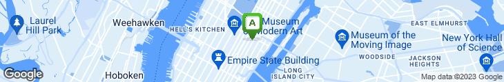 Map of Apna Taj Indian Restaurant