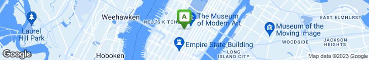 Map of Cafe Metro