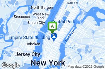 Map of B Smith's Restaurant Row