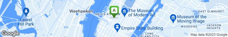 Map of Joe Allen