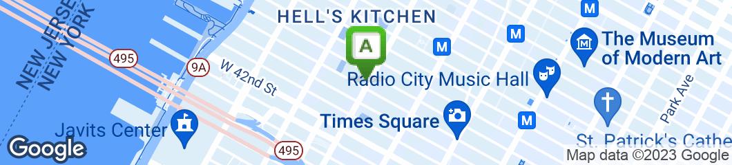 Map of City Sandwich
