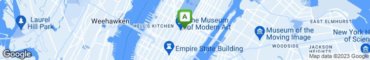 Map of Adour Alain Ducasse at the St Regis New York