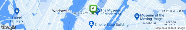 Map of Cafe Duke