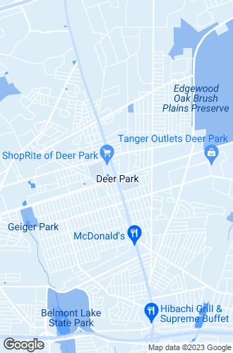 Map of Deer Park