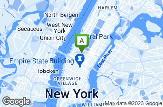 Map of Broadway Gourmet Deli
