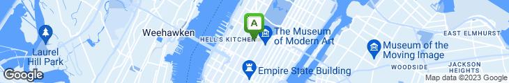 Map of Crown Gourmet