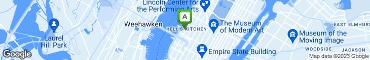 Map of Robert's Steakhouse