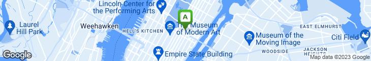 Map of Green Gourmet Deli & Sushi