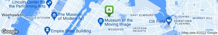 Map of Queens Comfort