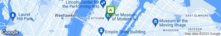 Map of Brasserie 8 1/2