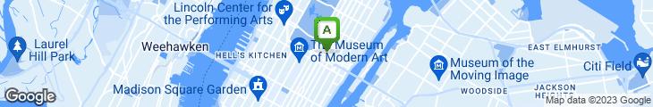 Map of Jovia Restaurant