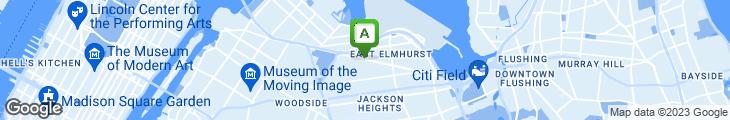 Map of D & S Airport Delicatessen