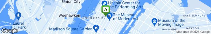 Map of Applejack Diner