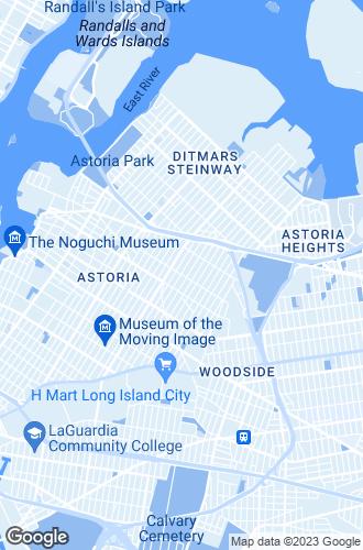 Map of Astoria