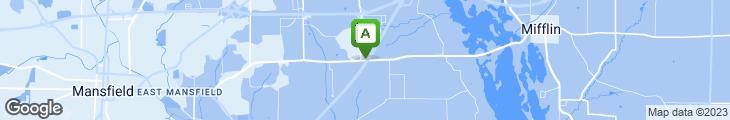 Map of Oak Park Tavern