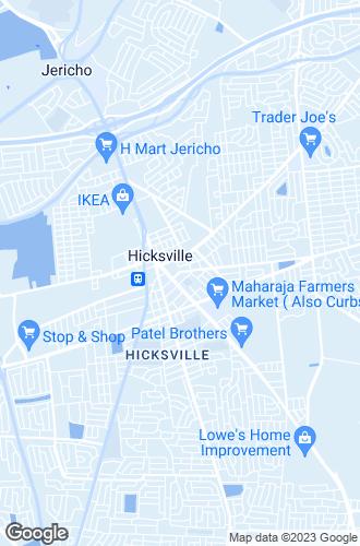 Map of Hicksville
