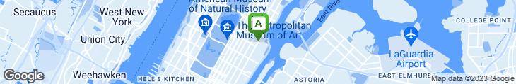 Map of Manhattan Food Market