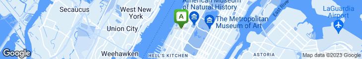 Map of West Side Cafe