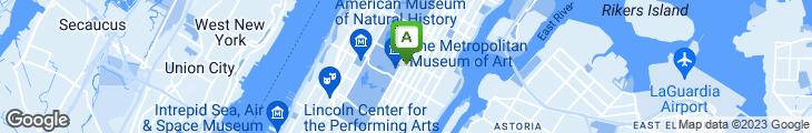 Map of Amity Restaurant