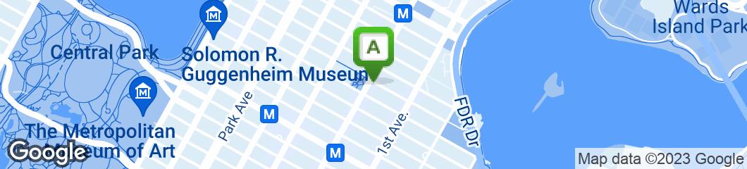 Map of 3 Decker Restaurant
