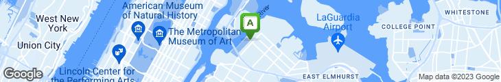 Map of Astoria Park Pizzeria