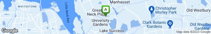 Map of Seven Seas Restaurant