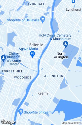 Map of Kearny