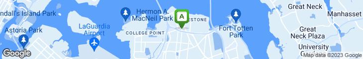Map of Cozy Diner & Cafe