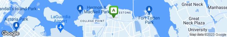 Map of Whitestone Diner