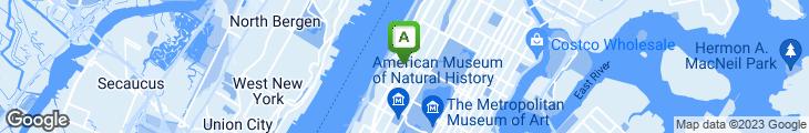 Map of Manhattan Diner