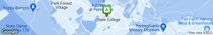 Map of Ye Olde College Diner