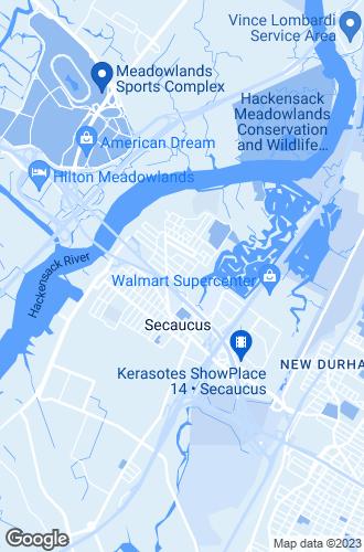 Map of Secaucus