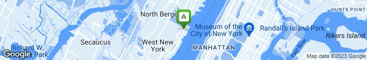 Map of Waterside Restaurant