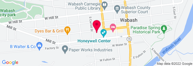 Map for Honeywell Center