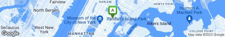 Map of Sandy Restaurant