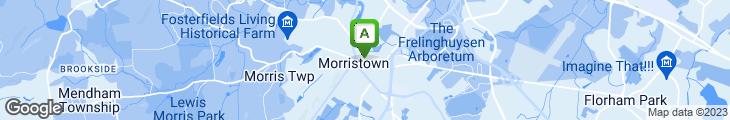 Map of Morris Pizzeria
