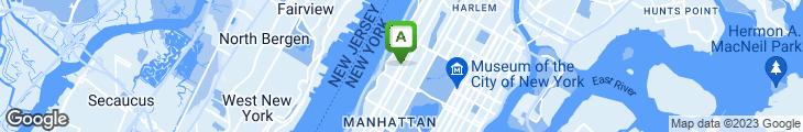 Map of Broadway Bagel & Deli