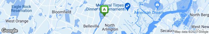 Map of Bensi Of North Arlington Inc.