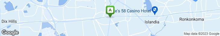 Map of Cafe La Strada