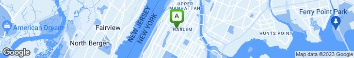 Map of Harlem BBQ
