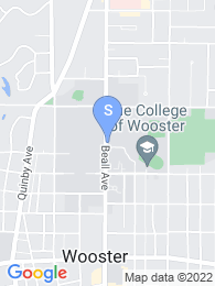 College of Wooster map