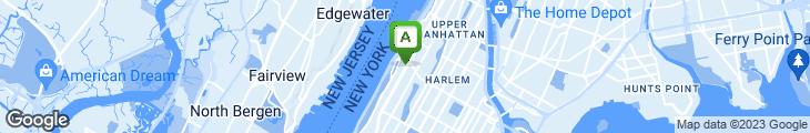 Map of Falafel on Broadway