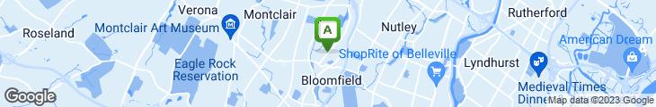 Map of Wonder Bagels