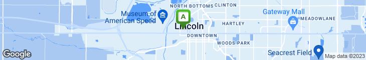 Map of J Finnegan's