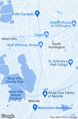 Map of Huntington Station