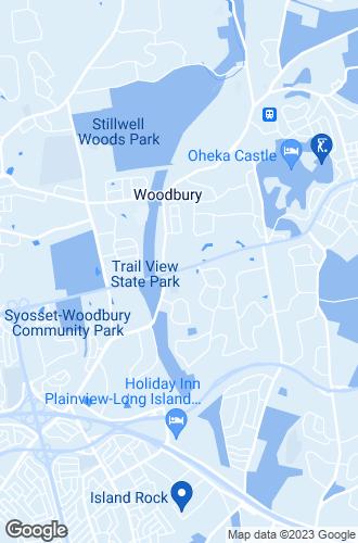 Map of Woodbury