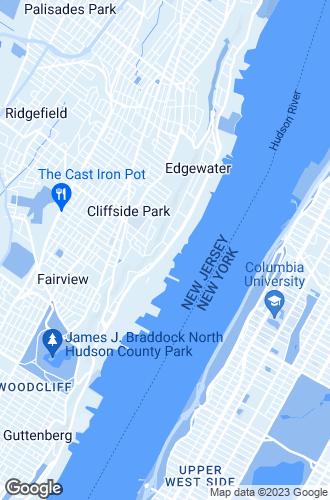 Map of Edgewater